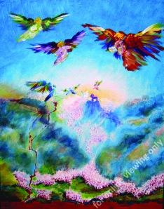 Illustration to Revelation 14